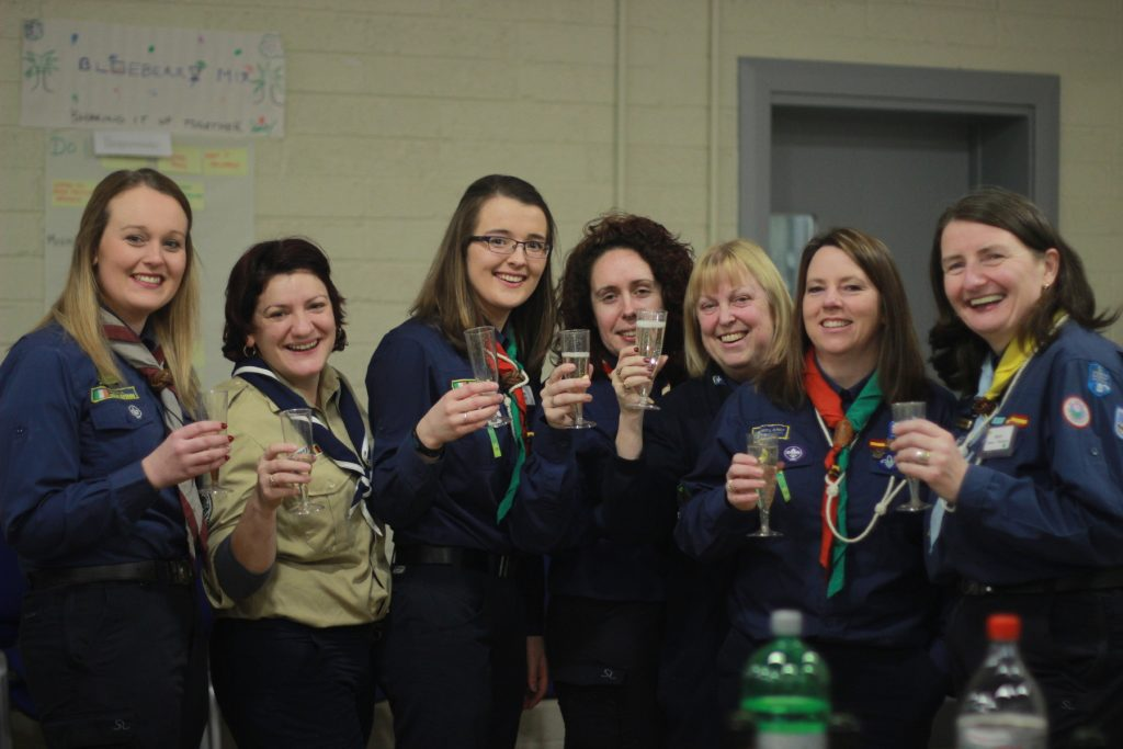 experienta woodbadge train the trainers - scouting ireland